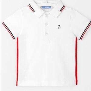 Jacadi Paris polo toddler shirt short sleeve